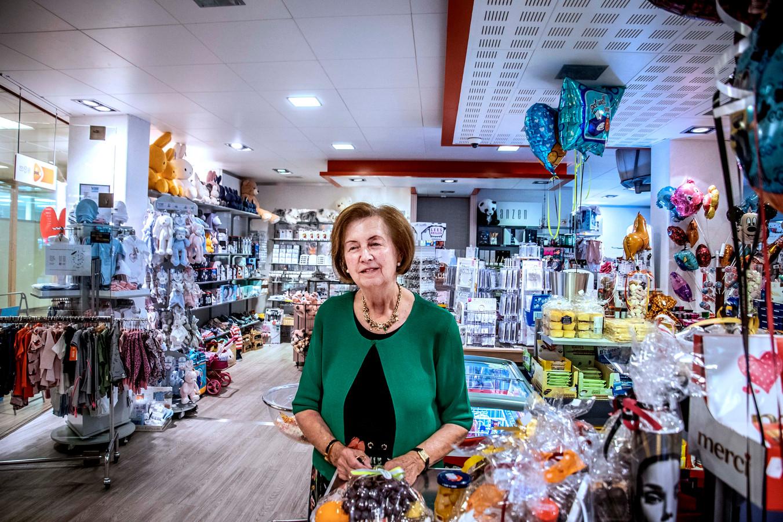 Betty van Ham-Zandboer neemt na 65 jaar afscheid van het ziekenhuis.
