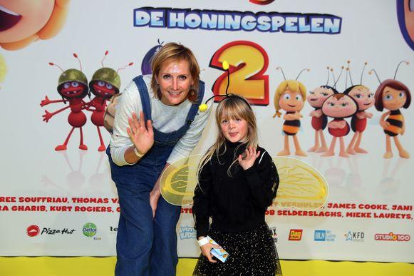 """""""Mijn dochter Grace en ik zijn allebei verzot op honing"""", vertelde tv-kok Sofie Dumont."""
