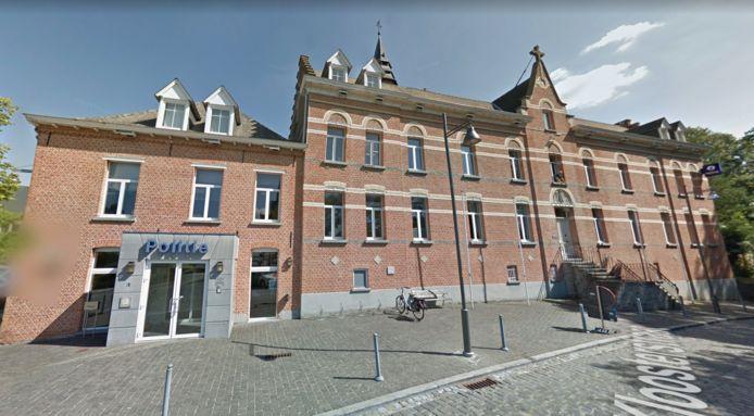 Het politiekantoor in Heist-op-den-Berg.