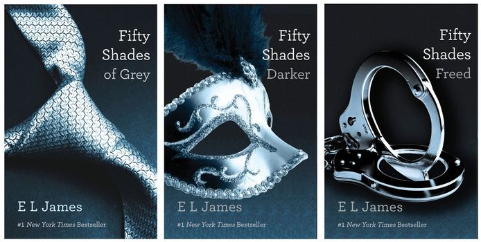 De trilogie op een rijtje.