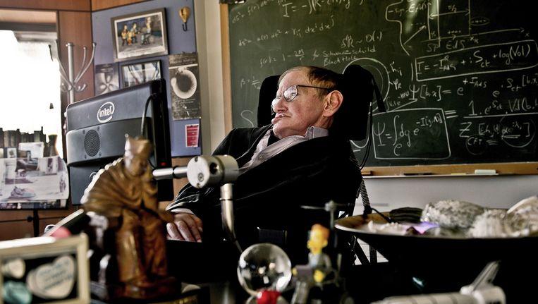 Stephen Hawking. Beeld AFP