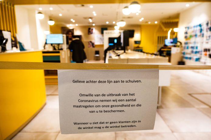 De coronacrisis is een ferme streep door de rekening voor veel Belgische handelaars.