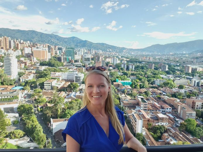 Rhonda Blokhuis in Colombia.