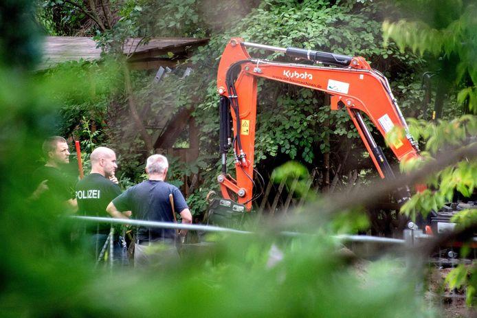 Fin juillet, la police allemande a perquisitionné un lotissement à Hanovre où Christian B. a habité.