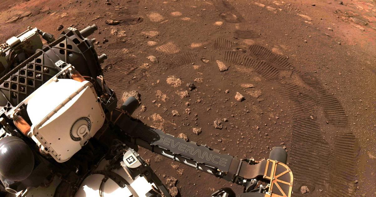 Le rover Perseverance a parcouru ses premiers mètres sur Mars - 7sur7