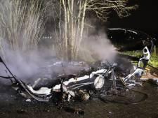 Caravan volledig verwoest door brand in Tiel