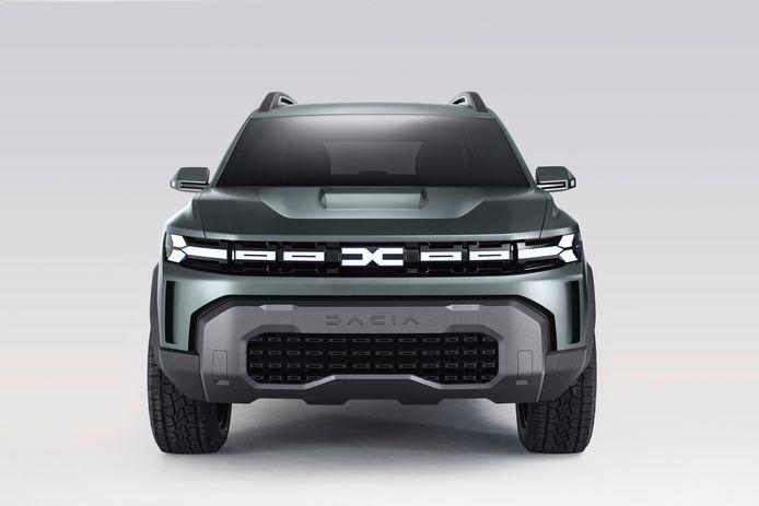 De Bigster Concept blikt vooruit naar een groter model van Dacia