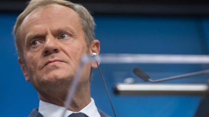 """President Tusk over Europees migratieakkoord: """"Nog te vroeg om van een succes te spreken"""""""