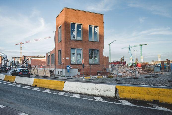 De buurt van Dok Noord waar de mishandeling zich afspeelde.