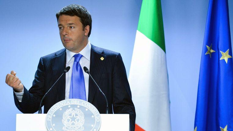 Matteo Renzi. Beeld epa
