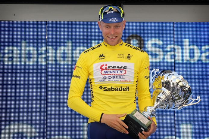 Xandro Meurisse won vorig jaar de Ronde van Murcia.