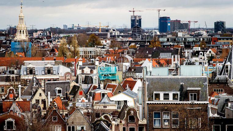 De gemeente Amsterdam wil illegale onderhuurders aanpakken Beeld anp