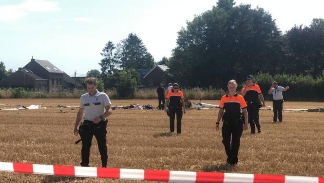 Zweefvliegtuig neergestort in Tienen: twee mensen komen om het leven
