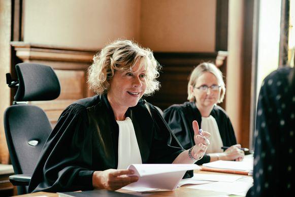 Vrederechter Annemie Robijns uit 'De Rechtbank'