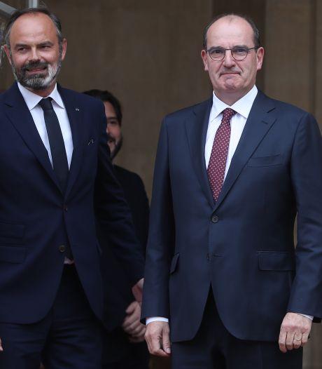 """Passation de pouvoir entre Edouard Philippe et Jean Castex: """"Soyez bon"""""""