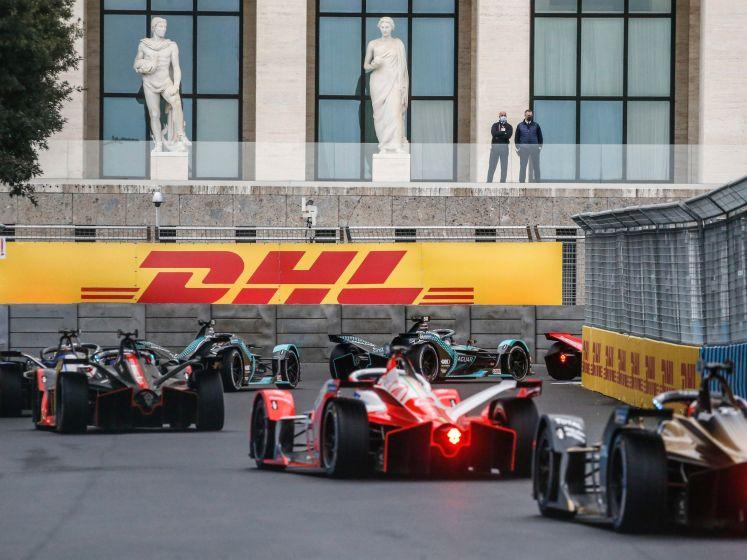 Flinke klapper bij Formule E-race in Rome