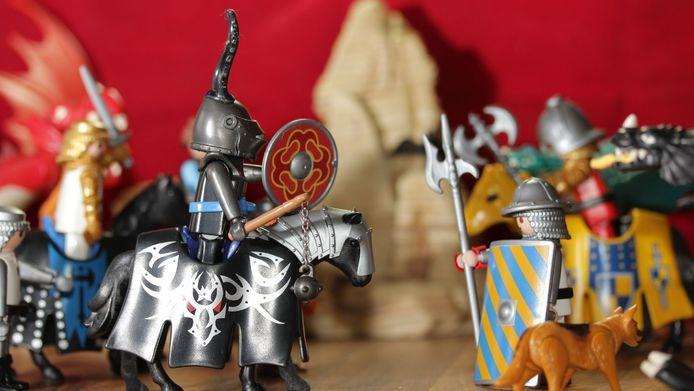 Bij de Speelgoedbank Gorinchem is een Playmobil-expositie te zien.