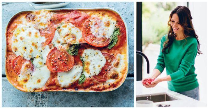 Met deze zuiderse lasagne haal je de lente in huis.