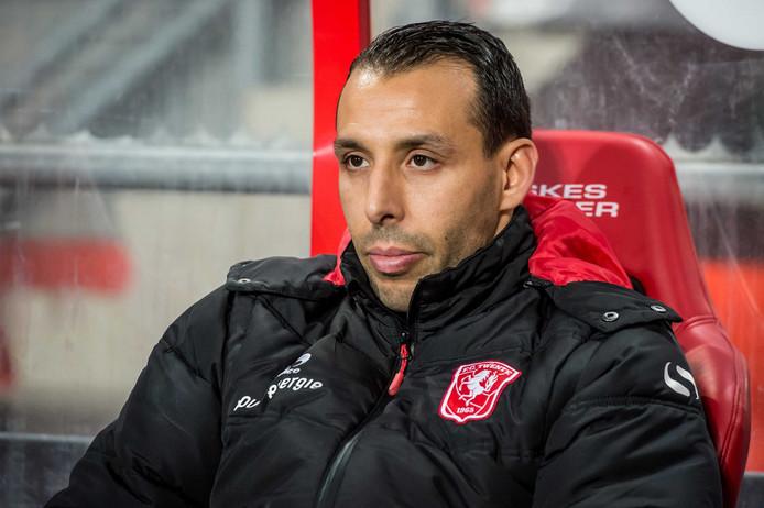 Mounir El Hamdaoui in dienst van FC Twente