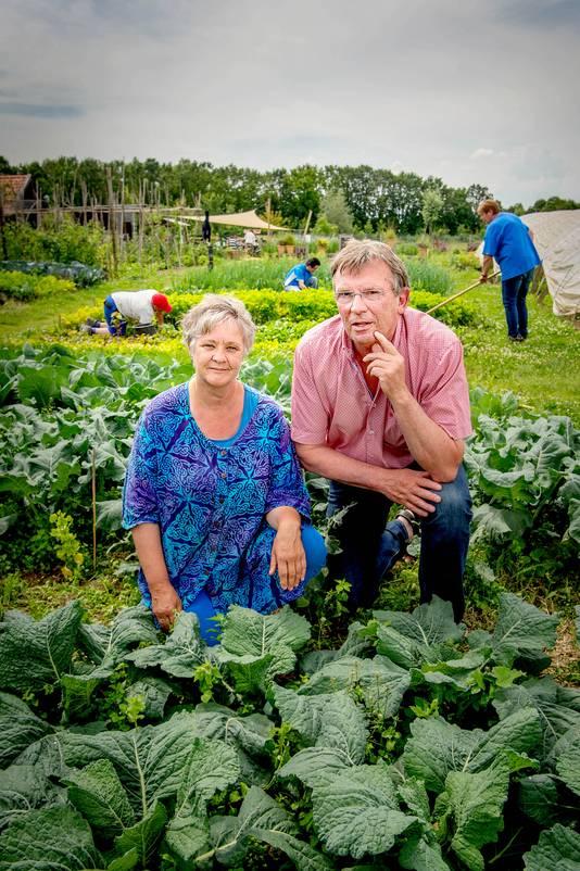 Bernadette en Ton Baaijens van Kwekerij Tuinen van de Hagert.