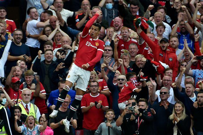Premier match, premier doublé, Cristiano Ronaldo n'a pas manqué ses retrouvailles avec Old Trafford!