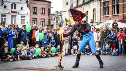 Circus- en straattheaterfestival Boulevart start dit jaar al op zaterdag