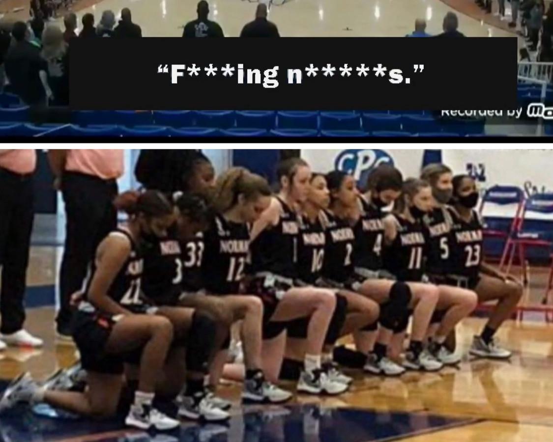 Lors d'un match jeudi dernier, un commentateur pensant que son micro était éteint, a insulté ces joueuses de basket.