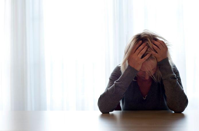 2011-08-31 14:24:48 ILLUSTRATIE - Vrouw in therapie. ANP XTRA ROOS KOOLE