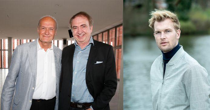 Jacques Vermeire, Luc Verschueren en Ruben Van Gucht