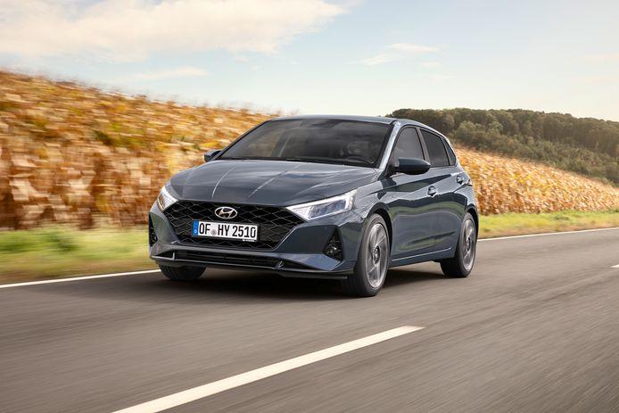 De nieuwe Hyundai i20 oogt een stuk brutaler dan z'n voorganger