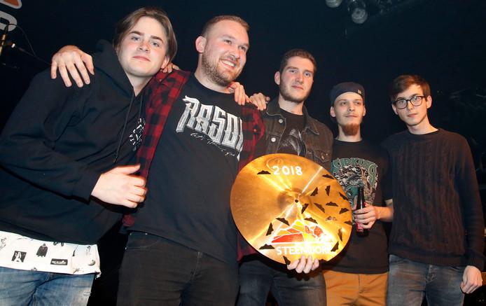 Our Common Sense won zaterdag bandwedstrijd Steenworp.