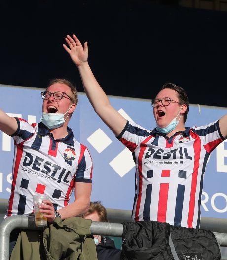 Na zeven maanden eindelijk weer publiek in het stadion: 2000 fans bij Willem II - RKC