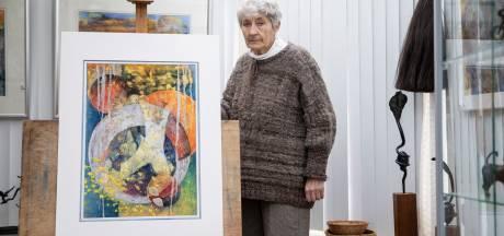 Haar man heeft alzheimer, maar van de doeken van Daniëlle Orelio spat het leven af