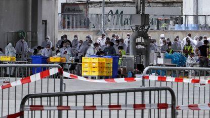 1.331 werknemers van Duitse vleesfabriek besmet met coronavirus, voorlopig geen nieuwe lokale lockdown