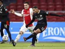 PSV pakt na enerverende topper tegen Ajax een welkom punt