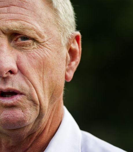 Cruijff: 'Ik kon Ajax pas twee weken geleden informeren over onze plannen'