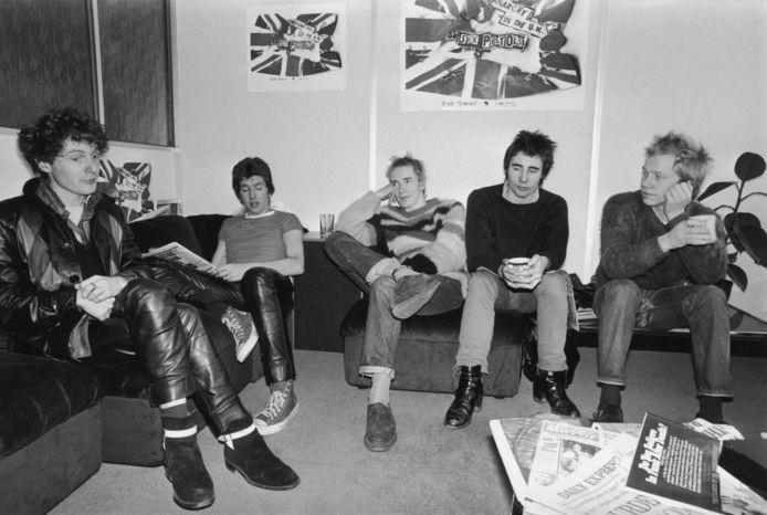 De 'Sex Pistols' in betere tijden
