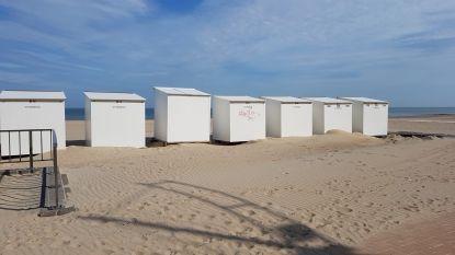 Vijftiental strandcabines besmeurd met graffiti