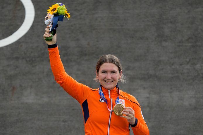 Brons: Merel Smulders (BMX racen, individueel, vrouwen)