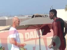 Le cliché de la rencontre Zidane-Pogba à Dubaï fait l'effet d'une bombe