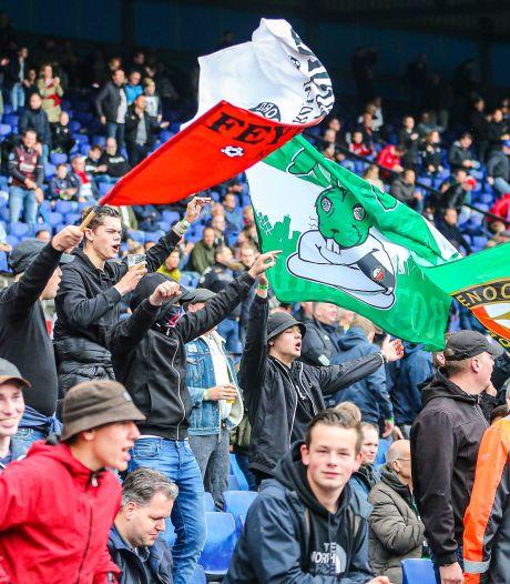 Bij Ajax-AZ en Feyenoord-Vitesse mogen er weer fans in het stadion