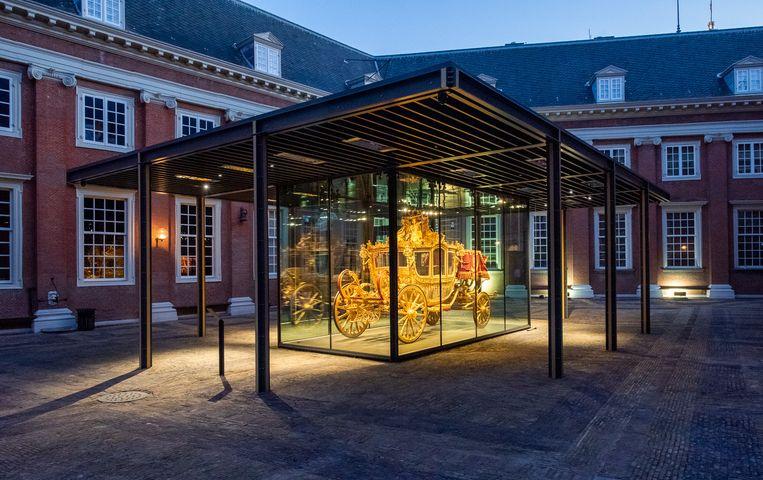 De Gouden Koets in het Amsterdam Museum. Beeld Amsterdam Museum