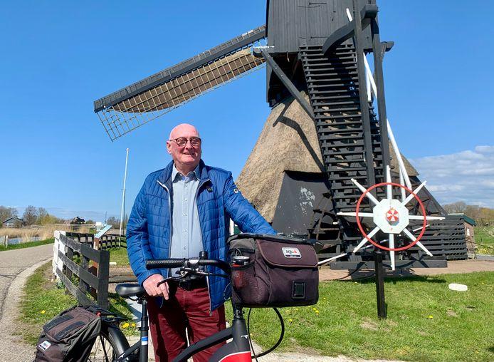 Toine Somers, die nu een paar jaar in Gorinchem woont, is als het even kan op reis.