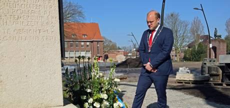 Sobere herdenking bevrijding Winterswijk: 'Voor het eerst sinds de Tweede Wereldoorlog kunnen wij niet in volledige vrijheid leven'