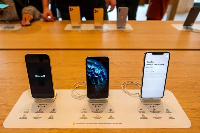 De Amerikaanse techreus Apple heeft zijn leveranciers gevraagd om nog dit jaar minstens 75 miljoen nieuwe iPhones te maken die geschikt zijn voor het 5G-netwerk.
