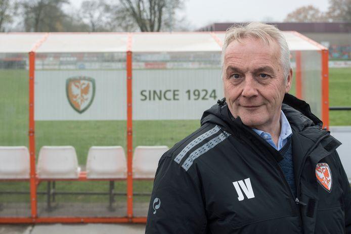 Voetbal TEC-voorzitter Johan Verweij wil TEC naar een hoger niveau tillen.