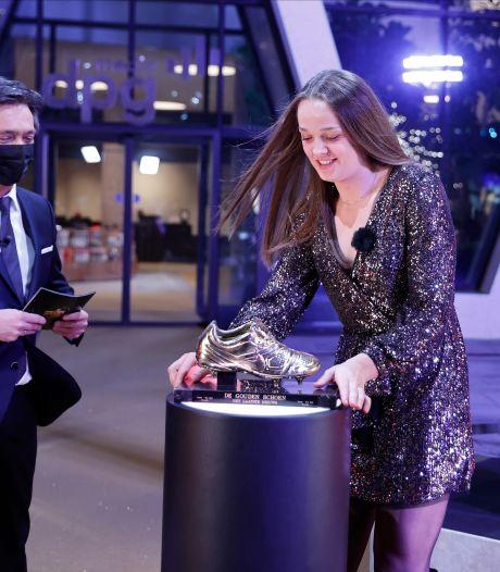 Tine De Caigny élue Soulier d'Or féminin, tir groupé pour Anderlecht