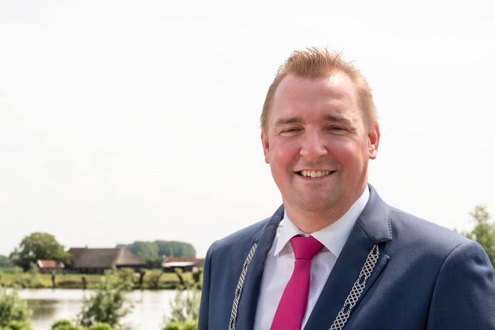 Burgemeester Gerben Dijksterhuis.
