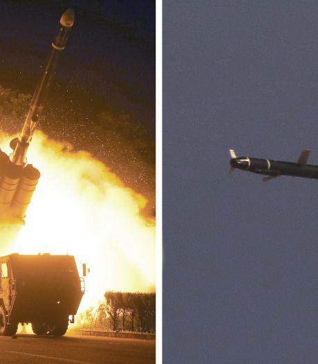 Noord-Korea vuurt opnieuw kruisraketten af tijdens oefening
