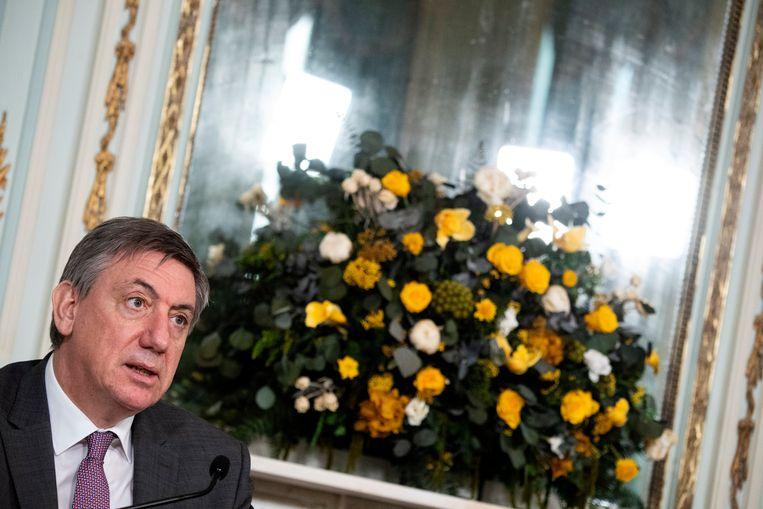 Vlaams minister-president en minster van Cultuur Jan Jambon (N-VA). Beeld Photo News